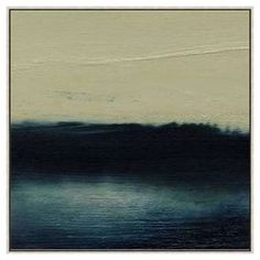 Water One Framed Canvas Giclee Print