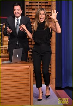 jennifer aniston critical relationship with her mother 02 Jennifer Aniston waves at the crowd and shows off her incredible arm muscles while making an appearance on The Tonight Show Starring Jimmy Fallon on Wednesday evening…