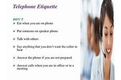 Etiquette Some Major Things Phone Etiquette, Say Anything, Telephone, Workplace, Sayings, Phone, Lyrics, Quotations, Idioms