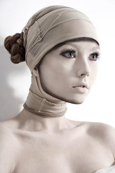 - Soul - by *photofenia on deviantART The Machine Stops, Stunning Women, Body Art, Portrait Photography, Nude, Beige, Makeup, Surgery, Pallet