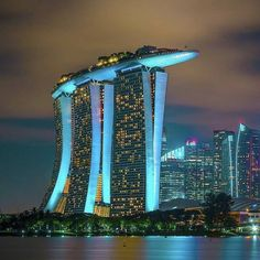 Marina Bay Sands, Singapore ~ Photograph By – Asia destinations - Travel Destinations Marina Bay Sands, Sands Singapore, Singapore Travel, Places To Travel, Places To See, Travel Destinations, Holiday Destinations, Travel Around The World, Around The Worlds