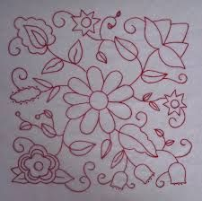 New Embroidery Designs Flowers Mexican Ideas Cushion Embroidery, Crewel Embroidery, Cross Stitch Embroidery, Machine Embroidery, Flower Embroidery Designs, Embroidery Patterns Free, Stitch Patterns, Mexican Embroidery, Hungarian Embroidery