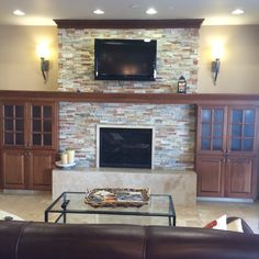 fireplace cabinet idea | Home | Pinterest | Interiors and House