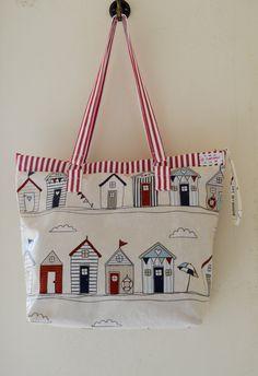 Large Shoulder Bag Tote Bag Summer Bag Beach bag by FullColour