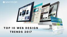 web design trends 2017, top 10 web design trends