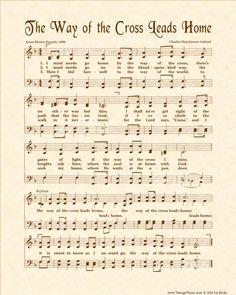 Church Songs, Church Music, Hymns Of Praise, Praise Songs, Worship Jesus, Worship Songs, Old Sheet Music, Vintage Sheet Music, Great Song Lyrics