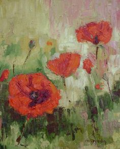 Poppies IV by Ginger Concepcion