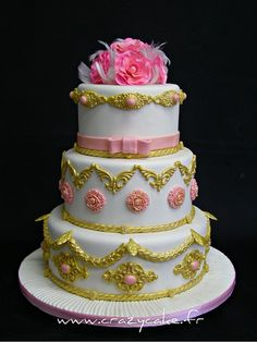 Marie Antoinette Wedding Cake by Crazy Cake - Cakedesigner57, via Flickr