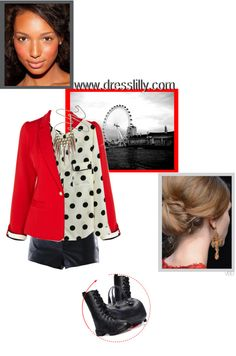 """""""Im Feelin Red!!"""" by victoria-bella-donna on Polyvore"""