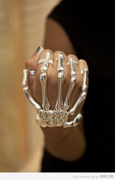 skeleton hand jewelry