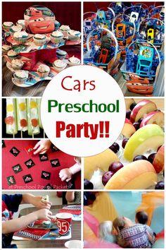 Disney Cars Preschool Party!! | Preschool Powol Packets