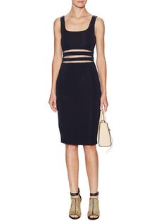 Dance All Night Mesh Trim Dress by BAILEY 44 at Gilt