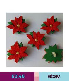 EASTER TULIPS Craft Buttons 1ST CLASS Flower Garden Spring Dress It Up Novelty