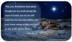 Micah 5:2 www.thebeautyinhisgrip.com