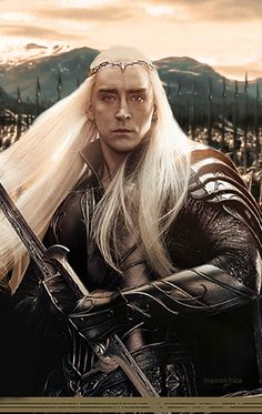 New 'The Hobbit: The Battle Of The Five Armies' Covers Showcase Bilbo, Tauriel, Legolas, Thranduil, Thorin & Lee Pace Thranduil, Legolas And Thranduil, Tauriel, Kili, Hobbit 3, The Hobbit Movies, Fellowship Of The Ring, Lord Of The Rings, Elf King