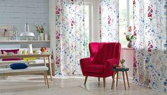 ALIYAH #bordado y #estampado / #brodat i #estampat. #lino #fil #lli #flors #flores #colour #color #saum #ontariofabrics