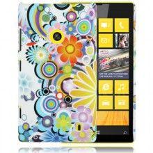 Carcasa Lumia 520 - Flores 2  $ 50,51