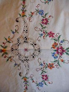 Handmade Cross Stitch Cross St