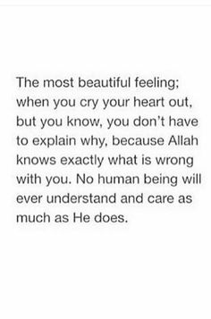 The most beautiful feeling Quran Quotes Inspirational, Quran Quotes Love, Beautiful Islamic Quotes, True Quotes, Words Quotes, Islam Quotes About Life, Daily Quotes, Wisdom Quotes, Quotes Quotes