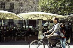 paseando por la rambla by Barcelona Cycle Chic, via Flickr