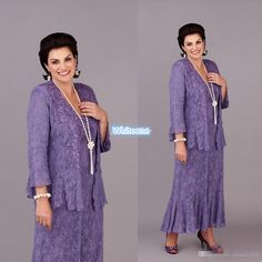 2016 Mother Of The Bride Groom Formal Gowns Evening Dresses Strapless Long Sleeve Jacket Sheath Vintage Lace Mother Dress Purple Tea Length Mother Of The Groom Dresses In Plus Sizes Mother Of The Groom Dresses Online From Whiteone, $146.9| Dhgate.Com