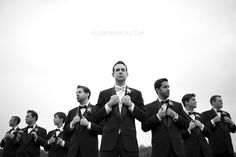 This gal does amazing work. I'm totally in love with this groomsmen shot!