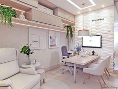 Ideas design home office room dividers Nurse Office Decor, Doctors Office Decor, Medical Office Design, Home Office Design, Home Office Decor, House Design, Doctor Office, Healthcare Design, Design Offices