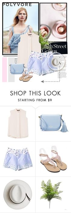 """twinkledeals"" by anida-mostarlic ❤ liked on Polyvore featuring MANGO, Kate Spade and Calypso Private Label"