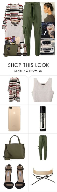 """""""everything sweet ain't sugar coated."""" by mxnvt ❤ liked on Polyvore featuring Baja East, Aesop, Valextra, Current/Elliott, Steve Madden, Charlotte Russe and STELLA McCARTNEY"""