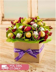 Edible Chocolate Arrangements Fantasy Arrangement Happy Birthday Flower