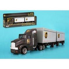 Daron UPS Tandem Tractor Trailer