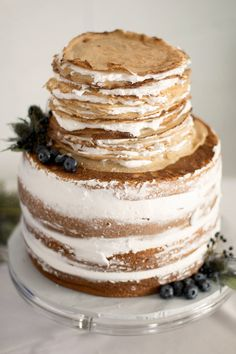 Crepe & Cake Wedding Cake Alternative