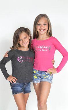 Dance Moms - Sisters Mackenzie & Maddie.   Sis