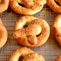 Food Pusher: Pretzel Donuts (Gluten Free)