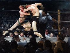 George Bellows. 'Stag at Sharkey's' 1909