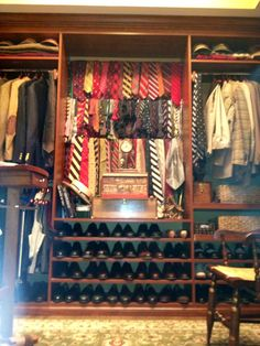 His Ralph Lauren inspired Closet