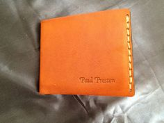 Genuine Leather Goatskin  Wallet Hand Made by HeirloomLeather, $75.00