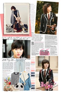 """""""5.The K-pop girl you would like to be your schoolmate."""" by danmbappa ❤ liked on Polyvore"""