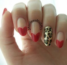 Love-ly Designs: Heart Nail Art