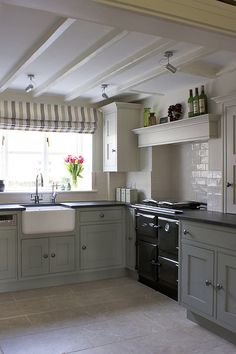 Love the old country kitchen feel Handmade Kitchens | Bespoke Furniture | Cheshire Furniture Company