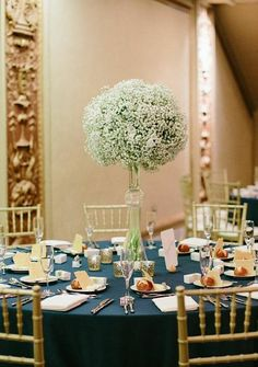 wedding centerpiece idea; Katie Kett Photography