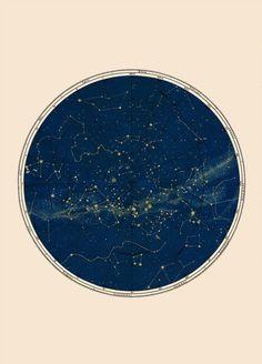 Une constellation du XVIIIe siècle, carte de lAllemagne avec les pointillés et étoiles dessinées à la main. Amoureusement restauré dans mon studio et dépouillé vers le bas à ses éléments plus picturales. Minimal et élégant ! Pour les amateurs dart de lastrologie et lastronomie art, Antique illustrations et beaux tirages dépoque. Disponible en bleu, gris ou en or. / / / / VISITEZ MA BOUTIQUE / / / / https://www.etsy.com/shop/Capri...