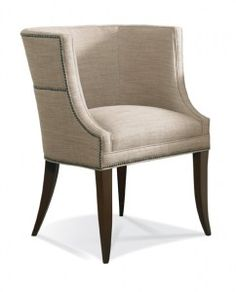 Hickory White          4831-01      Pull-Up Chair      Upholstery      Pull-Up Chair      Tight Seat      W26 D26 H35 in.      Inside: W18 D18 H16 in.      Arm Height: 35 in.      Seat Height: 22 in.      Nail head trim standard.