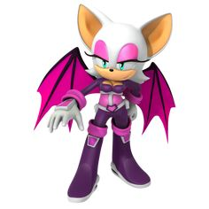Rouge the Bat Heroes Outfit by Nibroc-Rock on DeviantArt