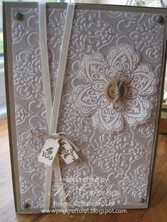 Lacy Vellum Card