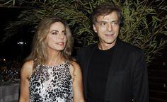 Bruna Lombardi & Carlos Alberto Riccelli Juntos há 36 anos - 16 casais famosos para acreditar no amor
