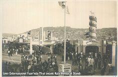 Bir zamanlar  İzmir Fuarında  Kula Mensucat standı.