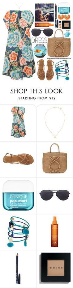 """""""Thursdays..."""" by palmtreesandpompoms ❤ liked on Polyvore featuring Mara Hoffman, MIA, ViX, Clinique, Linda Farrow, Dorothy Perkins, Gypsy Soul, Institut Esthederm, Max Factor and Bobbi Brown Cosmetics"""