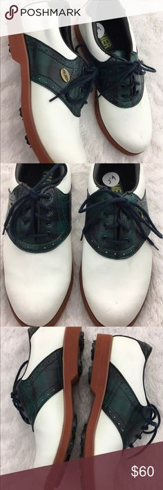 Palmer plaid golf shoes Great condition Vintage Shoes