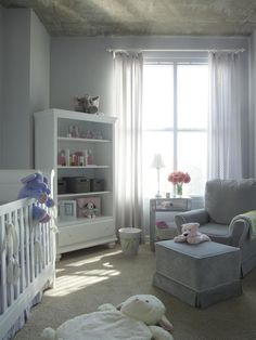 Love this nursery!!    -Small Urban Nursery Makeover : Rooms : Home & Garden Television    From - http://www.hgtv.com/kids-rooms/small-urban-nursery-makeover/pictures/index.html#